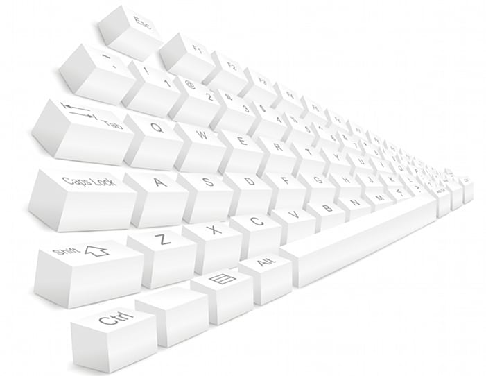 Keyboard: Typing Rows