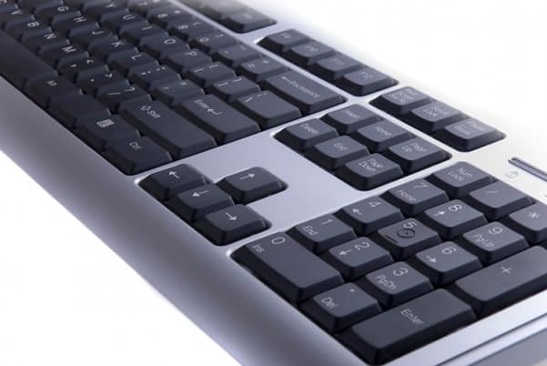 An Overview of the number pad typing keys.