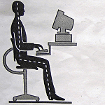 image of typing postures
