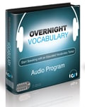 cover image of overnight vocabulary, small