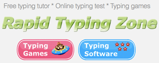 screenshot of rapidtyping-typing-games