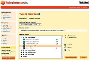 image of typing-instructor-web