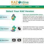 Kaz Typing Tutor - Screenshots - SEN Setting