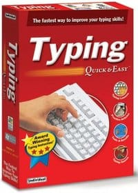 Typing Quick & Easy is a typing tutor offering instructional techniques combined with games, tests, reporting and per-loaded articles.  Read our review.