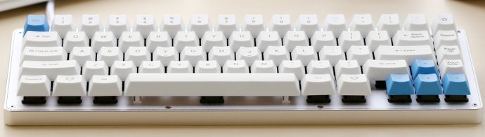 image of whitefox-mechanical-typingkeyboard