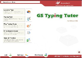 GS Typing is a Windows based course to practice typing skills. A brief review.