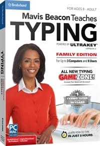 image of Mavis Beacon Teaches Typing - Family Edition