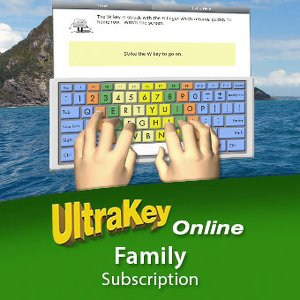cover image of Ultrakey Online Family Edition