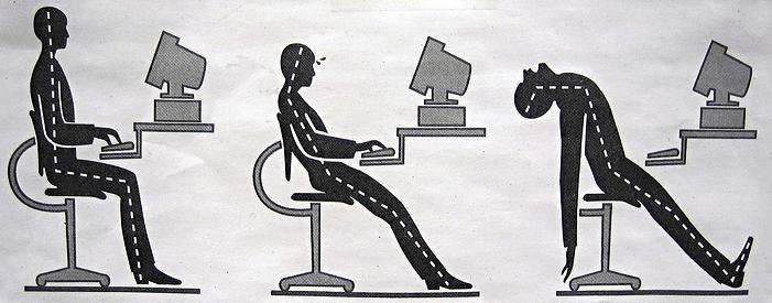 Improve posture - Typing Ergonomics