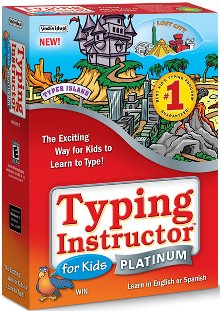 image of Typing Instructor for Kids