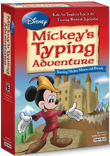 image of Typing Instructor Mickey's Typing Adventure