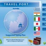 image of Typing Instructor Screenshot - Travel Ports