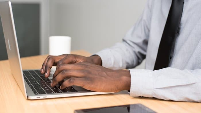 Image of typing jobs for fast typists