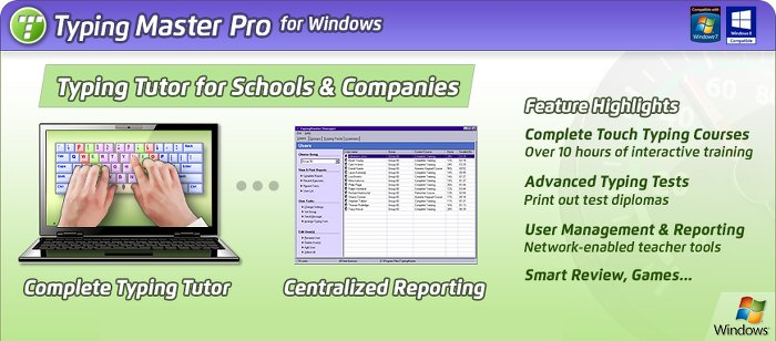 Image of Typing Master Pro - Schools and Companies