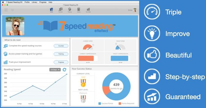Image of 7 Speed Reading by eReflect