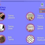 Image of Kiran's Typing Tutor - Screenshot Dashboard