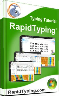 Image of Rapid Typing, a free program to improve speed and accuracy. A review.