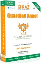 Cover Image of Kaz Typing - Guardian Angel