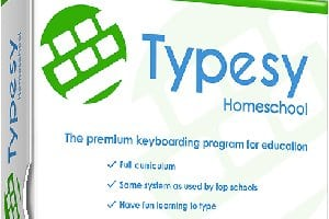 small product cover image of Typesy Homeschool